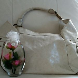Handbags - Big cream bag
